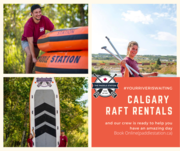 If you're looking for rafting Place in Calgary!